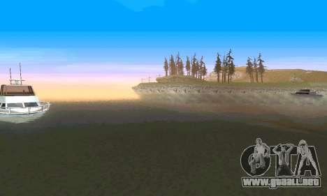 ENBseries para PC de gran alcance para GTA San Andreas quinta pantalla