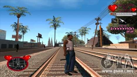 C-HUD Ministry Of Health para GTA San Andreas tercera pantalla