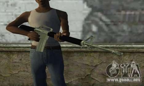 M16 para GTA San Andreas tercera pantalla