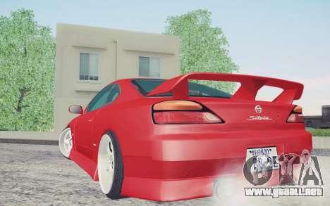 Nissan Silvia S15 BN Sports para GTA San Andreas left