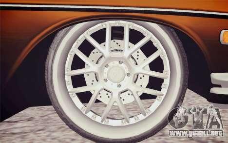 Mercedes-Benz 300 SEL para GTA San Andreas vista posterior izquierda