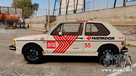 Volkswagen Rabbit GTI 1984 para GTA 4 left