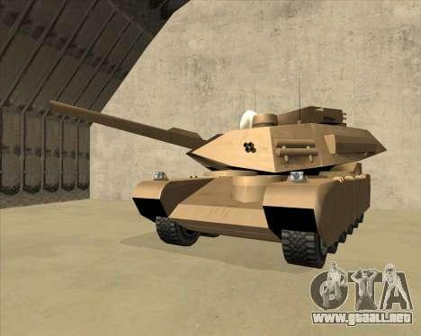 Rhino Mark.VI para visión interna GTA San Andreas