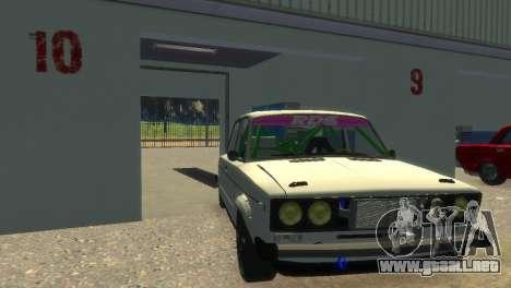 VAZ 2106 para GTA 4 vista lateral