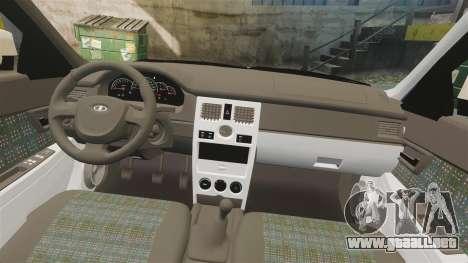 ВАЗ-2170 Instalado Antes para GTA 4 vista superior