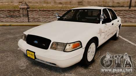 Ford Crown Victoria Traffic Enforcement [ELS] para GTA 4