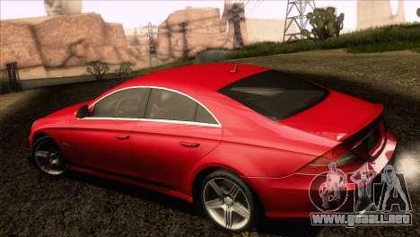 Mercedes-Benz CLS 63 AMG 2008 para la visión correcta GTA San Andreas