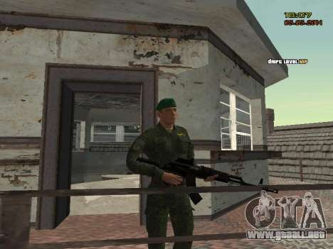 El ejército ruso moderno para GTA San Andreas twelth pantalla