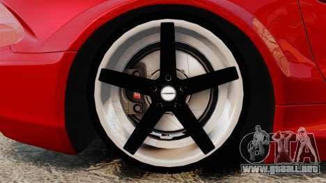 Mercedes-Benz SL65 AMG para GTA 4 vista hacia atrás