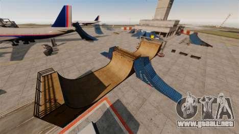 Truco-estacionar en el aeropuerto para GTA 4