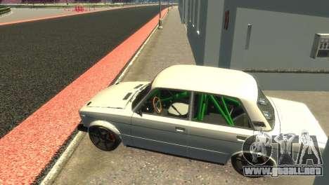 VAZ 2106 para GTA 4 vista hacia atrás