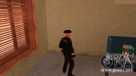 Pieles de la policía y el ejército para GTA San Andreas segunda pantalla