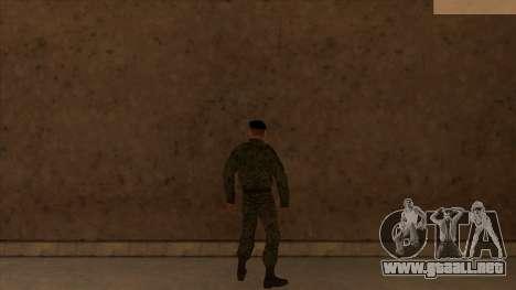 Pieles de la policía y el ejército para GTA San Andreas