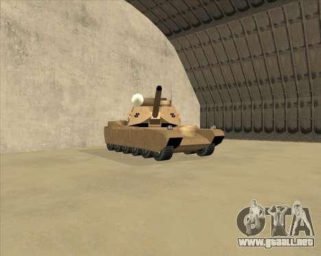 Rhino Mark.VI para GTA San Andreas left