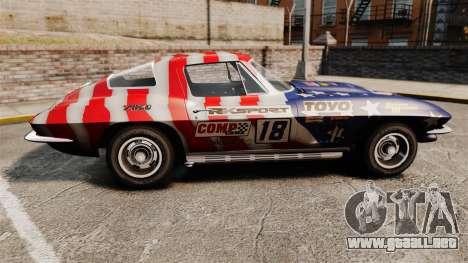 Chevrolet Corvette C2 1967 para GTA 4 left