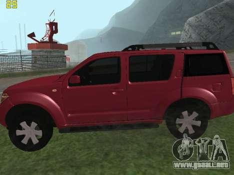 Nissan Pathfinder para GTA San Andreas left