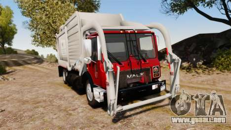 Mack MR 688S Front Load 2000 para GTA 4