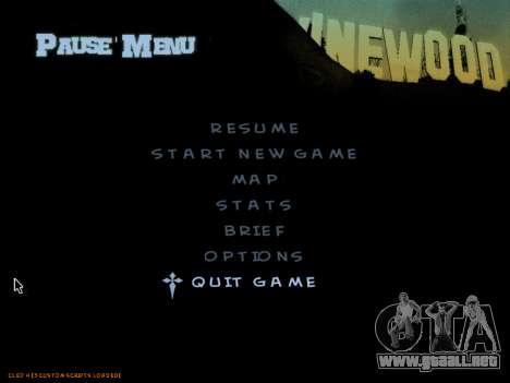C-HUD by Powwer para GTA San Andreas sucesivamente de pantalla