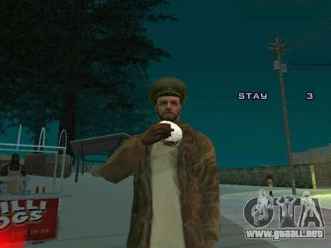 Mochila 2.0 para GTA San Andreas quinta pantalla