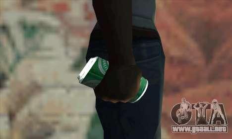 Heineken Grenade para GTA San Andreas tercera pantalla