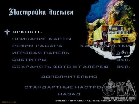 Inicio pantallas Soviética Camiones para GTA San Andreas undécima de pantalla
