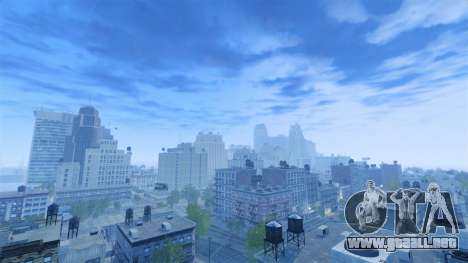 Tiempo en polo norte para GTA 4 tercera pantalla