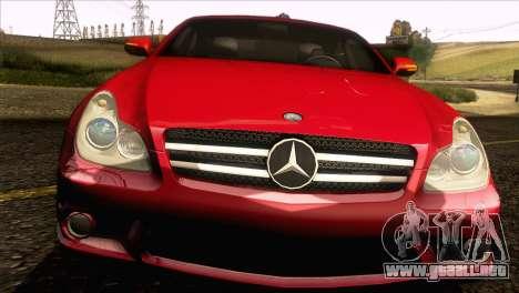 Mercedes-Benz CLS 63 AMG 2008 para visión interna GTA San Andreas
