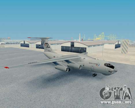 Il-76TD Aviacon zitotrans para GTA San Andreas left