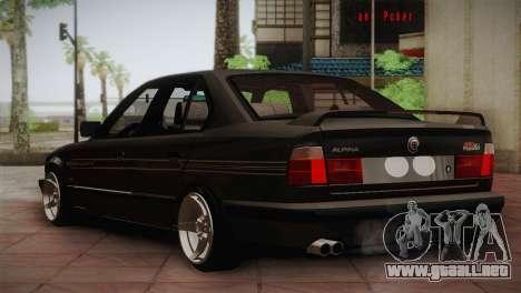 BMW E34 Alpina B10 para la visión correcta GTA San Andreas