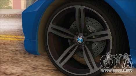 BMW 330i para la visión correcta GTA San Andreas