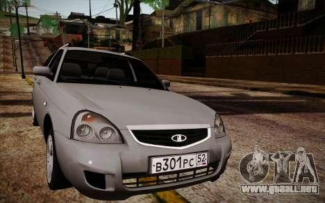 LADA Priora 2171 para GTA San Andreas