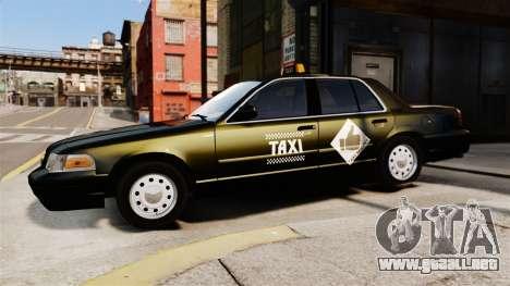 Ford Crown Victoria Cab para GTA 4 left
