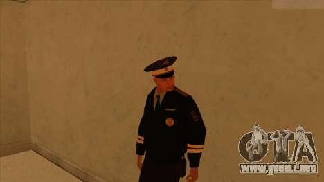 Pieles de la policía y el ejército para GTA San Andreas décimo de pantalla