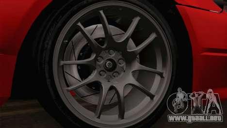 Nissan Silvia S14.5 para GTA San Andreas vista posterior izquierda