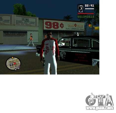 Forma olímpica Rusia para GTA San Andreas