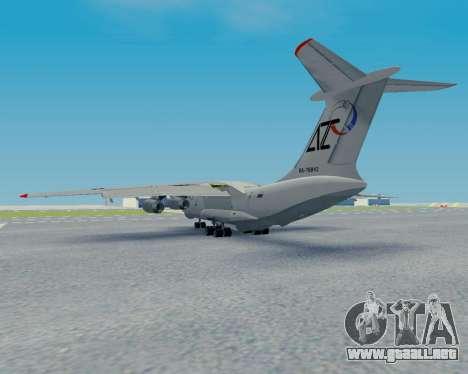 Il-76TD Aviacon zitotrans para GTA San Andreas