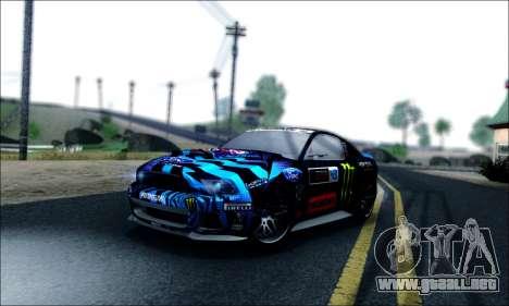 Ford Mustang GT 2013 v2 para vista lateral GTA San Andreas