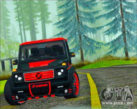 Mercedes-Benz G65 Hamann 2013 para GTA San Andreas left