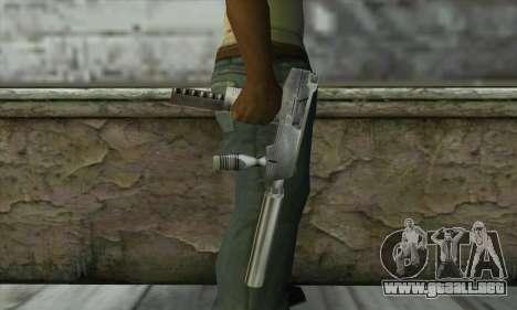 SMG из Counter Strike para GTA San Andreas tercera pantalla