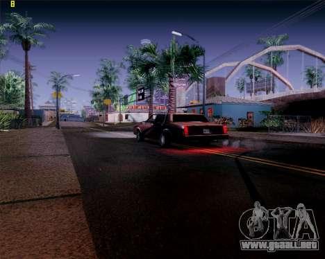 ENB HD CUDA 2014 v.3.5 Final para GTA San Andreas quinta pantalla