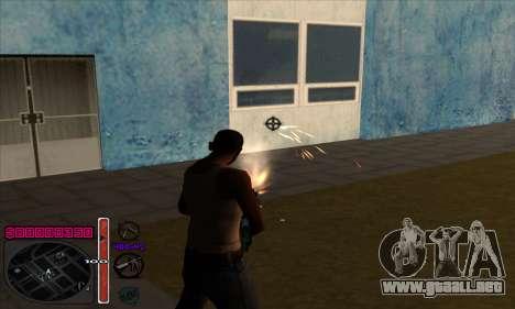 C-HUD by Andy Cardozo para GTA San Andreas tercera pantalla