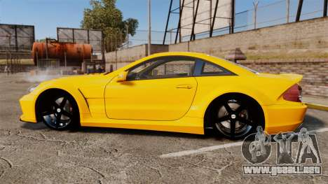 Mercedes-Benz SL65 AMG para GTA 4 left