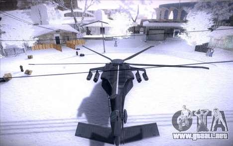 MH-X Silenthawk para la visión correcta GTA San Andreas