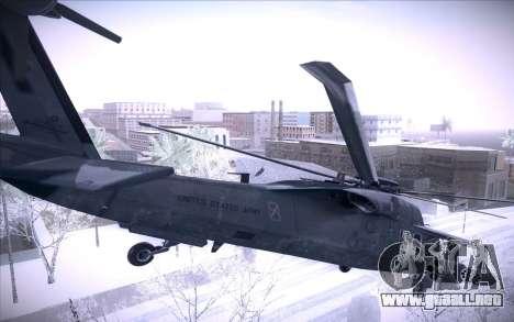 MH-X Silenthawk para visión interna GTA San Andreas