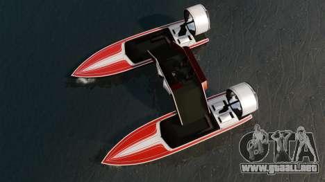 Catamarán-Jetmax Aero- para GTA 4 visión correcta