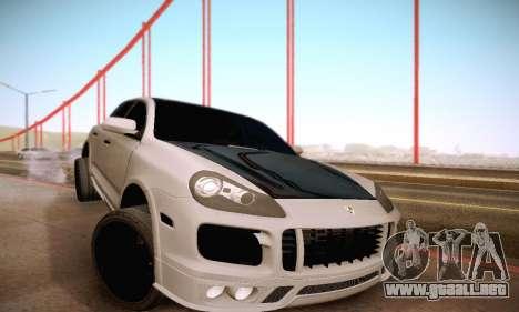 Porsche Cayenne para la vista superior GTA San Andreas