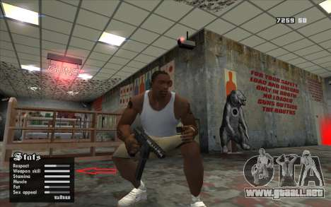 Weapon.dat modificado para GTA San Andreas