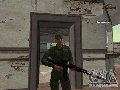 El ejército ruso moderno para GTA San Andreas novena de pantalla