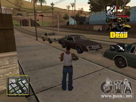 C-HUD Snoop Dogg para GTA San Andreas segunda pantalla
