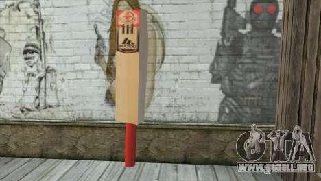 Adidas Cricket Bat para GTA San Andreas segunda pantalla